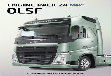 OLSF Engine Pack 24 for Volvo FH 2012 v1.0