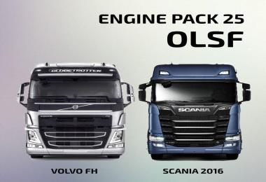 OLSF Engine Pack 25 for Scania/Volvo 1.33