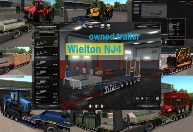 Ownable overweight trailer Wielton NJ4  v1.0