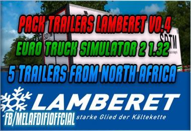 Pack Skins v0.4 For Lamberet Trailer For ETS2 1.33