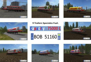 Packs 8 Trailers Fuel BY BOB51160 v2.0.0.0