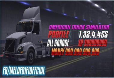 Save Game No DLC For ATS 1.32.x