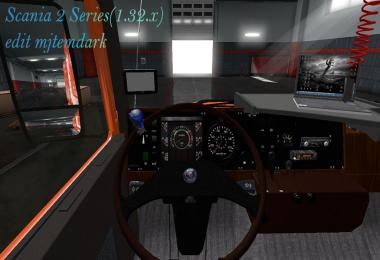 Scania 2 Series edit mjtemdark 1.32.x