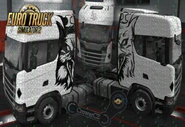 Scania Next Gen S - Big Griffin - Skin v1.0