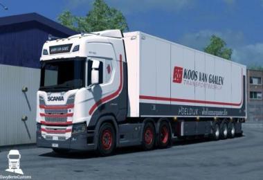 Scania R Koos van Gaalen Combo v1.0