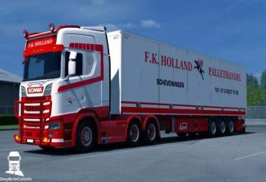 Scania S F.K. Holland Combo 1.32.x