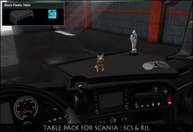 SCANIA TABLE PACK v1.0