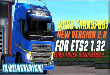 Skin Maro Transport For ETS2 1.33