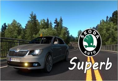 Skoda Superb + Caravan Updated v1.0