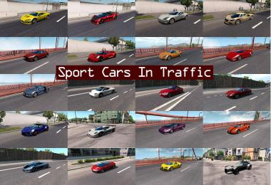 Sport Cars Traffic Pack (ATS) by TrafficManiac v2.3