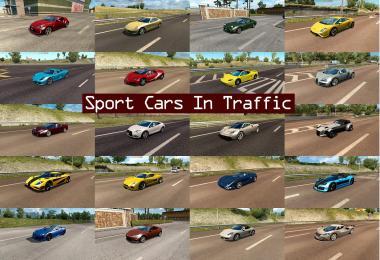Sport Cars Traffic Pack by TrafficManiac v2.3
