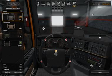 Steering Wheels Volvo VNL for Volvo FH16 Classic 1.32