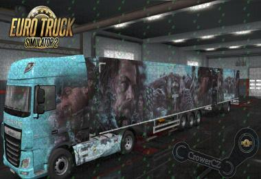 The Revenant Combo Skin DAF XF E6 + Ownership Trailer v1.0