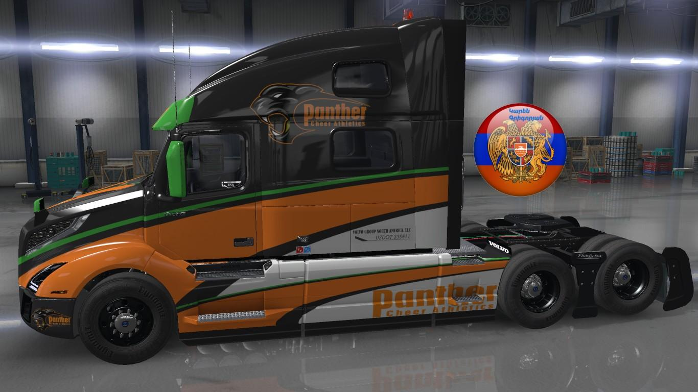 Volvo VNL 2018 Panther Skin 1.32.4.45s