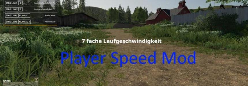 Player speed mod v1.0