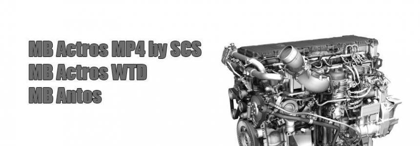Mercedes-Benz Actros MP4 Sound v1.0