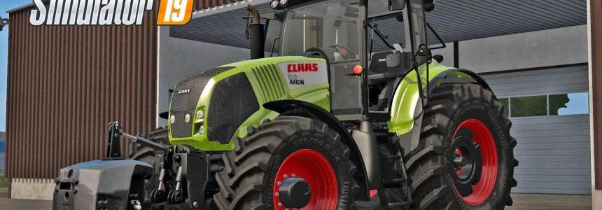 CLAAS AXION 800 (810, 830, 850) v2.0