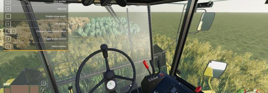 FS19 MapTemplate with working crops v1.0