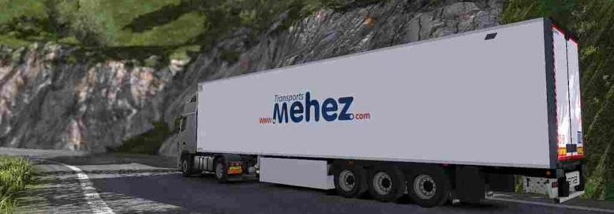 Lamberet Trailer - MEHEZ - ETS2 133 & 1.32