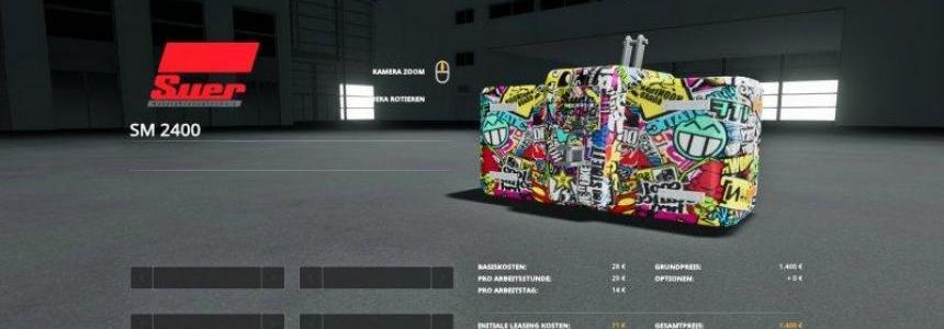 Greve Bomb + Sticker Bomb Gewicht v1.0