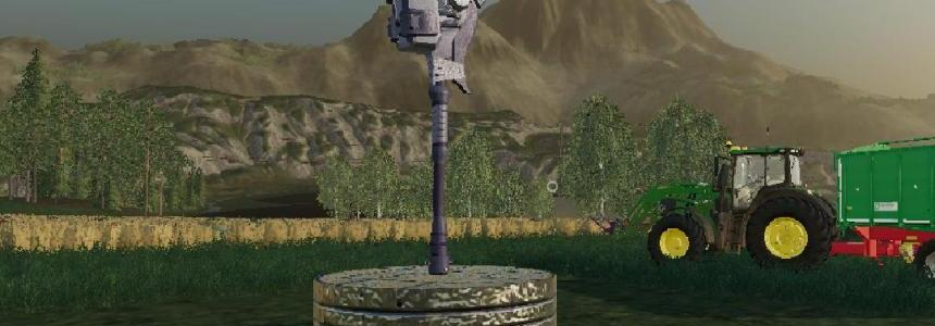 Halo Gravity Hammer - Scrap Iron Decoration v1.0