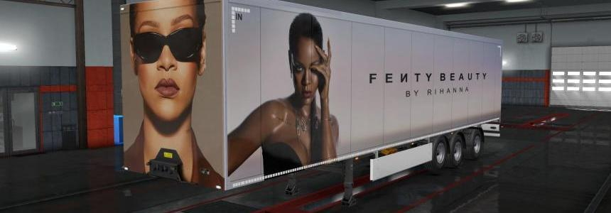 Fenty Beauty Owned Trailer Skin v1.0 1.33.x