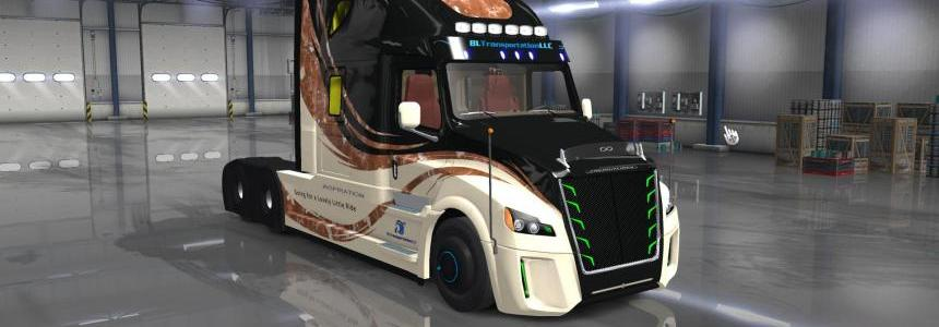 Freightliner Inspiration by conbar edit dmitry68 ATS 1.33.x