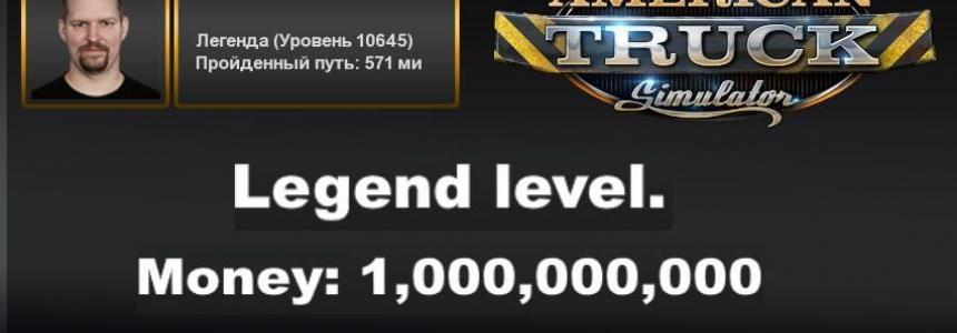 PROFILE LEGEND + 1,000,000,000 MONEY v1.0