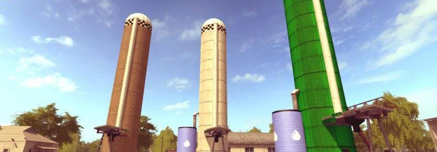 Addon Pellets fermenting silo for Golden Spike v3.1