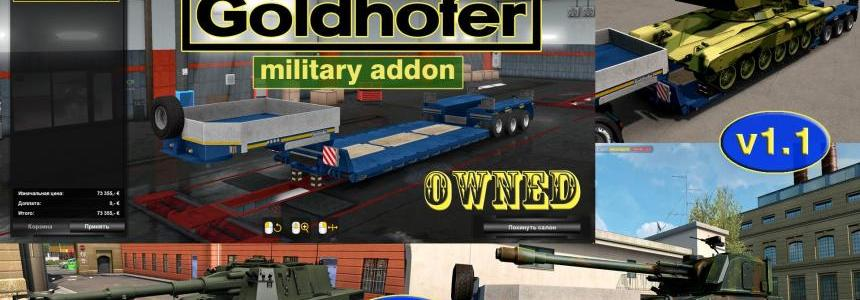 Military Addon for Ownable Trailer Goldhofer v1.1