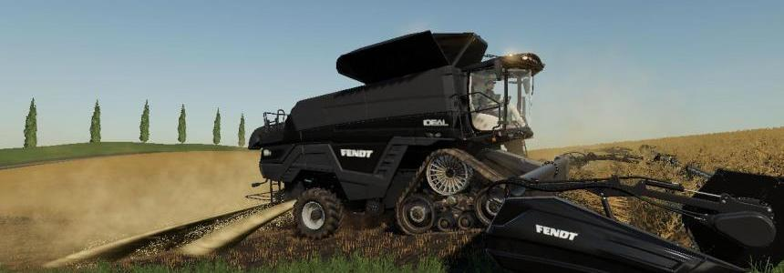 Agco Ideal Harvester/Header Pack v1.0