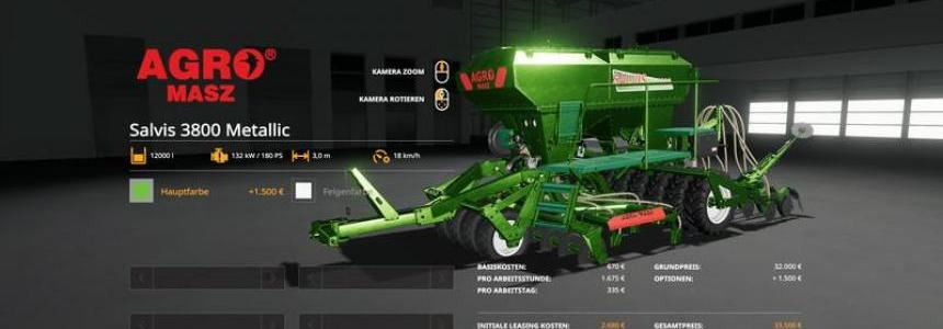 Agromasz Salvis3800 - MetallicEdit v1.0