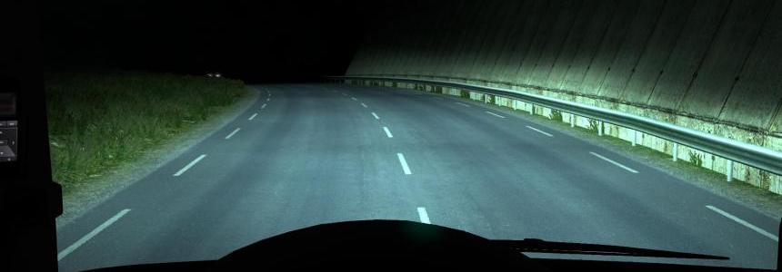 ALEXD 5500K Lights Volvo FH16 & FH16 2012 v1.0