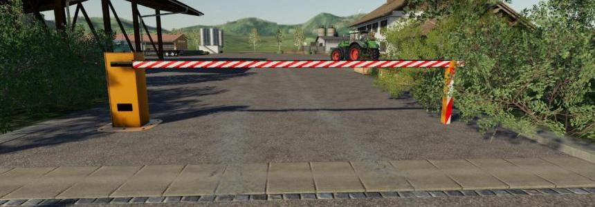 Automatic barrier placeable v1.0