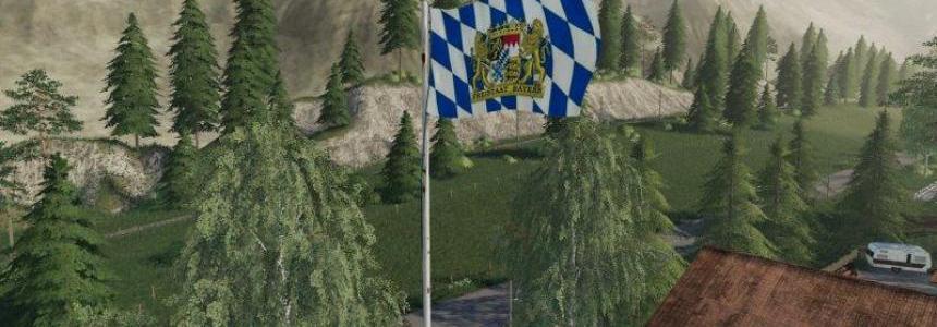 Bayern Flagge platzierbar v1.0