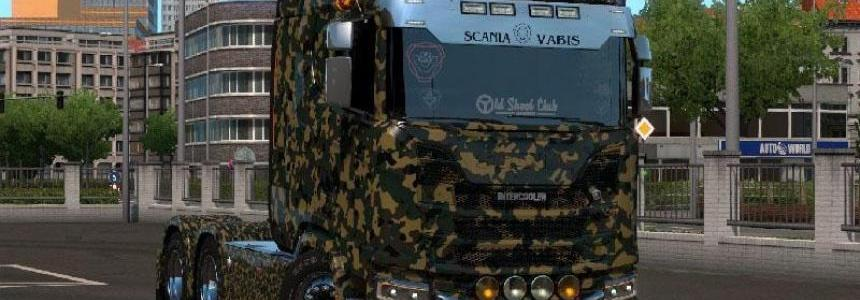 Camouflage Skins for all Trucks