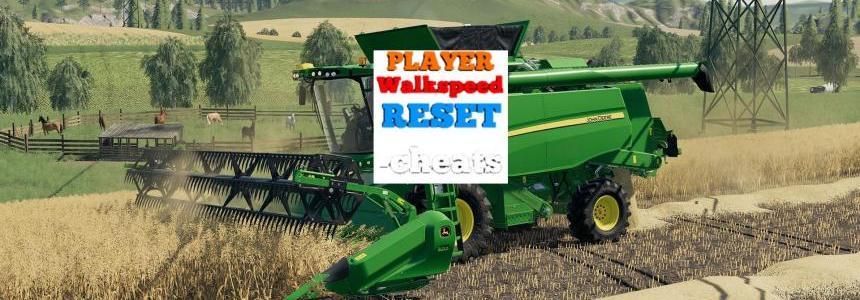 Cheats Player Walkspeed Reset v1.0.0