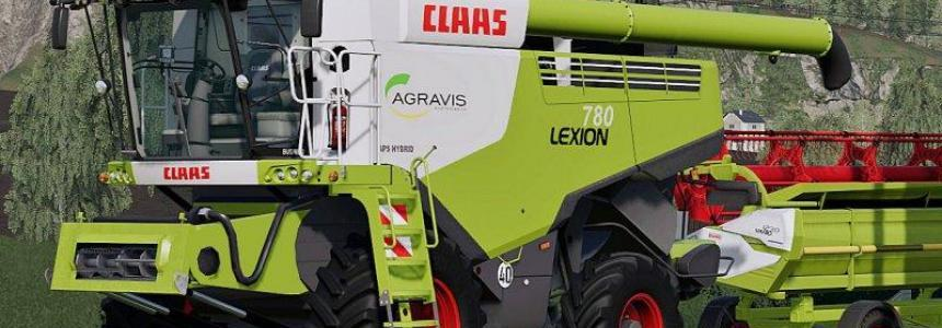 Claas Lexion 780 Full Pack v1.0.0.0