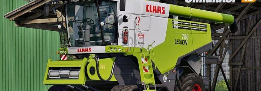 Claas Lexion 780 Full Pack v2.0