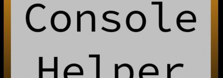 Console Helper v1.0.0.0