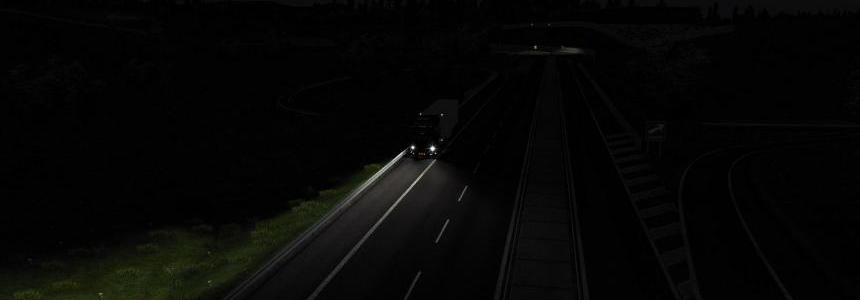 Darker Nights Add-on v1.1 for Realistic Graphics Mod v2.4