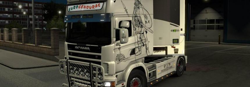 Eurocenouras Scania 4-Series Skins 1.33