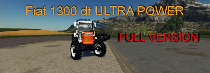 Fiat 1300 DT ULTRA POWER v1.0