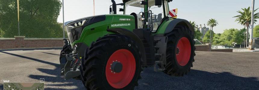 Fendt 1000 im agrarservice-mv Desing v1.0.0.0