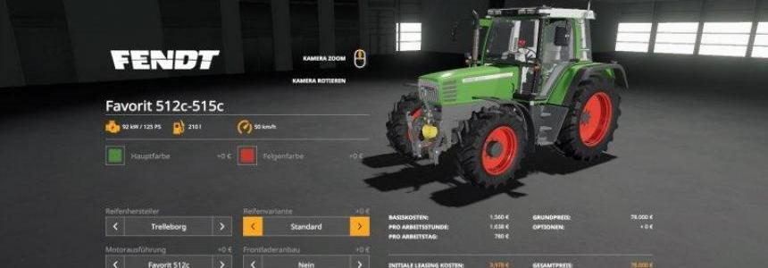 Fendt Favorit 511c - 515c v1.0