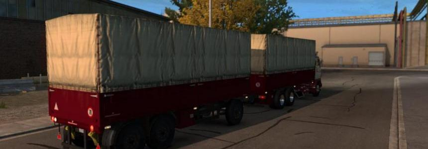 Fixed Trailer for Volvo F88 custom Trailer ATS 1.32.x