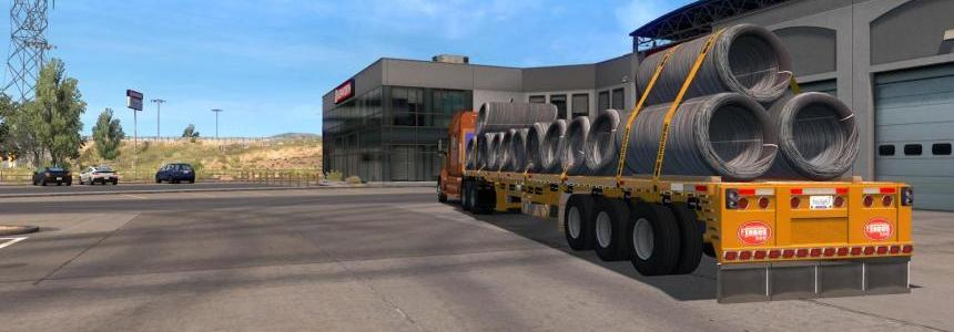 Flatbed ferbus owned ATS 1.33 mudflaps animations!