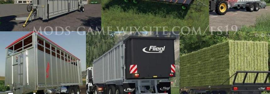 Fliegl Mega Trailers Pack v1.0