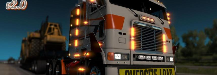 Freightliner FLB v2.0.5 for ATS [1.32, 1.33]