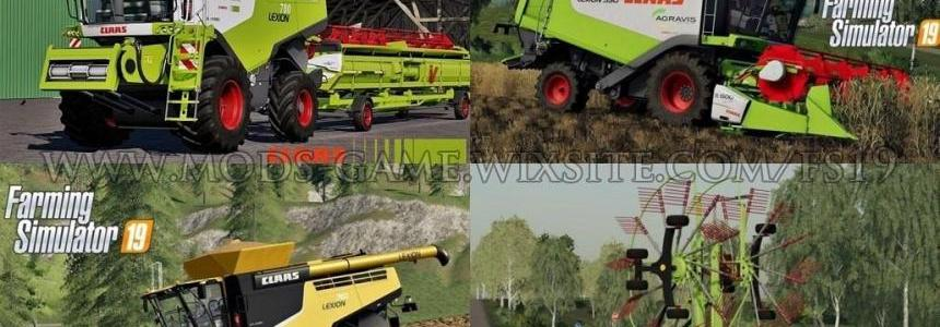 FS19 CLAAS PACK BY jbk v1.0.1